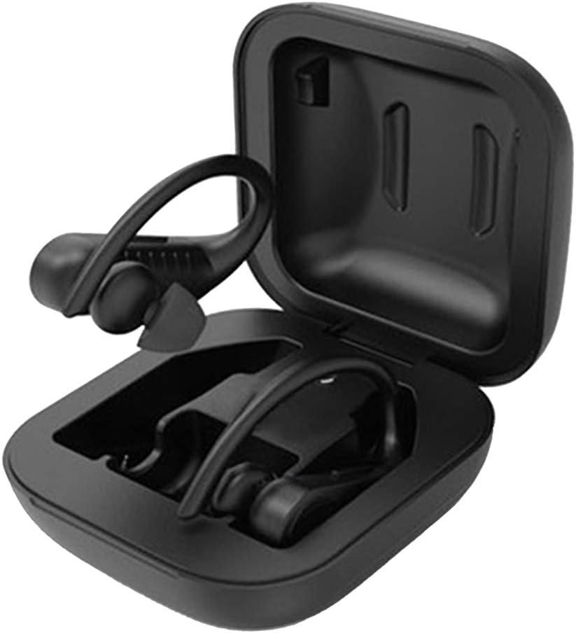 B Blesiya Auriculares Bluetooth con Gancho para La Oreja Auriculares Esté Inalámbricos Auriculares Deportivos con Micrófono - sin Pantalla LED