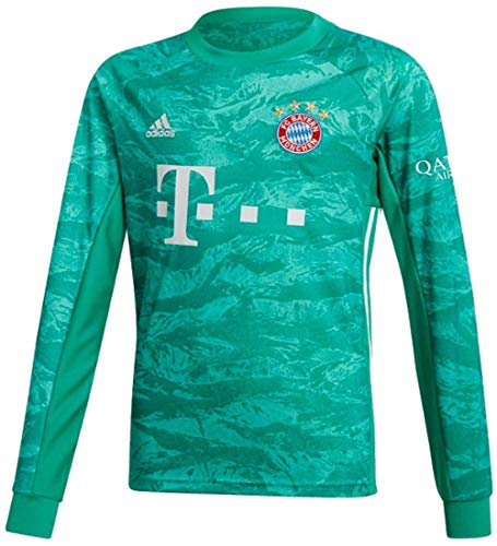 adidas 2019-2020 Bayern Munich Home Goalkeeper Football Soccer T-Shirt Jersey -