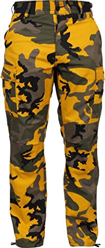 Tactical BDU Pants Camo Cargo Uniform Trousers Camouflage Military Fatigues ()
