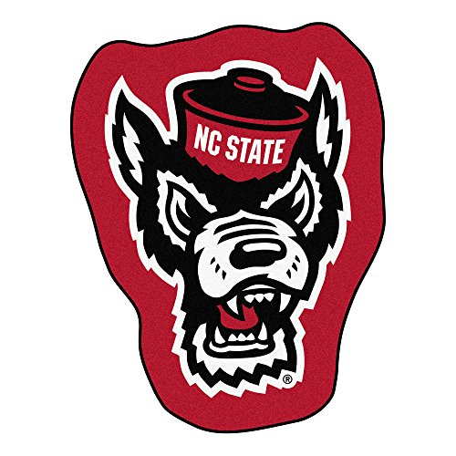 FANMATS NCAA North Carolina State Wolfpack Universitymascot Mat, Team Color, One Size ()