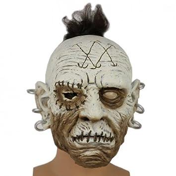 Máscara del zombi orko: Amazon.es: Juguetes y juegos