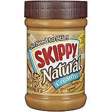 SKIPPY Peanut Butter Spread - Creamy - Natural - 15 Ounce
