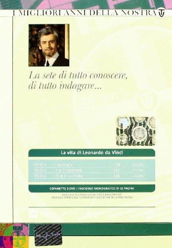 La vita di leonardo da vinci dvd streaming with english for La vita di leonardo da vinci