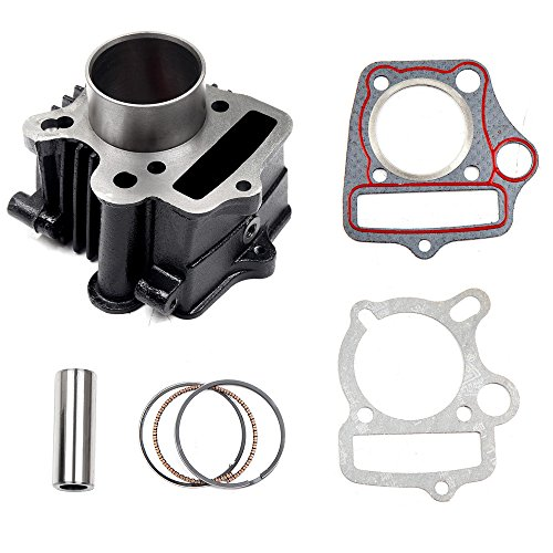 SCITOO fit 70CC Honda ATC70 CRF70 CT70 TRX70 XR70 S65 New Cylinder Piston Rings and Gasket -