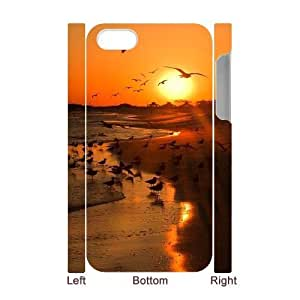 Sunrise 3D-Printed ZLB547175 Custom 3D Phone Case for Iphone 4,4S