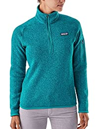Womens Better Sweater 1/4-Zip Fleece