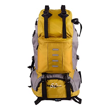 442cce91dd9 eiAmz Hiking Backpack, Water Resistance, Internal Frame Backpack with  Whistle Buckle, Rain Cover