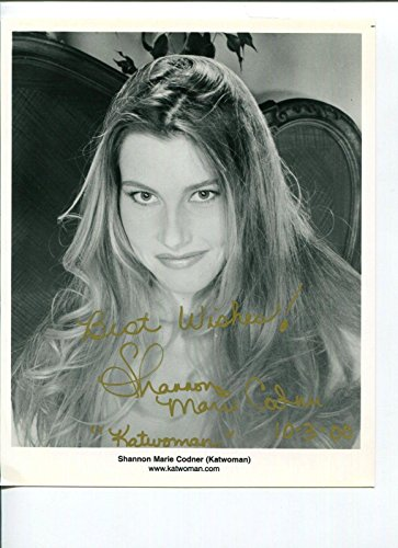 Shannon Marie Codner Katwoman WCW Sexy Wrestler Model Signed Autograph Photo - Autographed Wrestling Photos from Sports Memorabilia