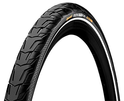Continental Ride City ETRTO (32-622) 700 X 32 Reflex Bike Tires, Black (Best Tires For Gravel Roads)