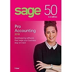 Sage Software Sage 50 Pro Accounting 2018 U.S