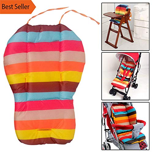 Baby Stroller Seat Cushion Pushchair High Chair Pram Car Colorful Soft Mattresses Carriages Seat Pad Stroller Mat Accessories - Newborn Stroller Valco Baby