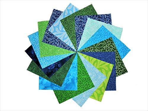 Blue Green Charm - 60 5