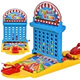 Linkin Sport Shoot Game and 4 Connect 2 in 1 Table Toy