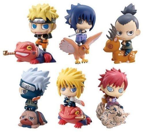 Cute ! Petit Chara Land Naruto Shippuden 5cm PVC Figure Set of 6pcs NIB Model:
