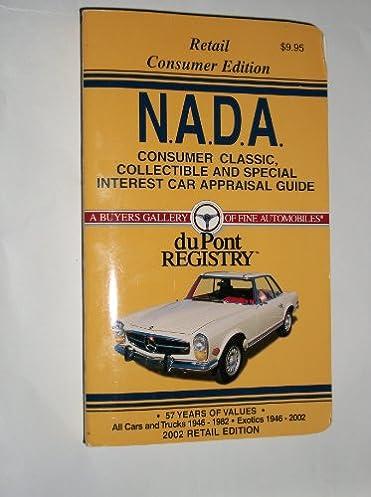 Classic car appraisal guide user manuals array nada consumer classic car appraisal guide 2002 nada classic fandeluxe Gallery