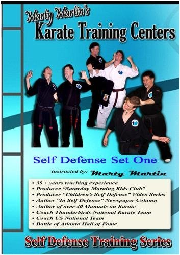 Marty Martin's Self Defense Training Series Self Defense Set One by Marty Martin