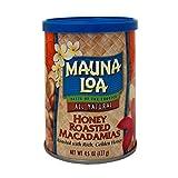 Mauna Loa Honey Roasted macadamia nut cans 127g