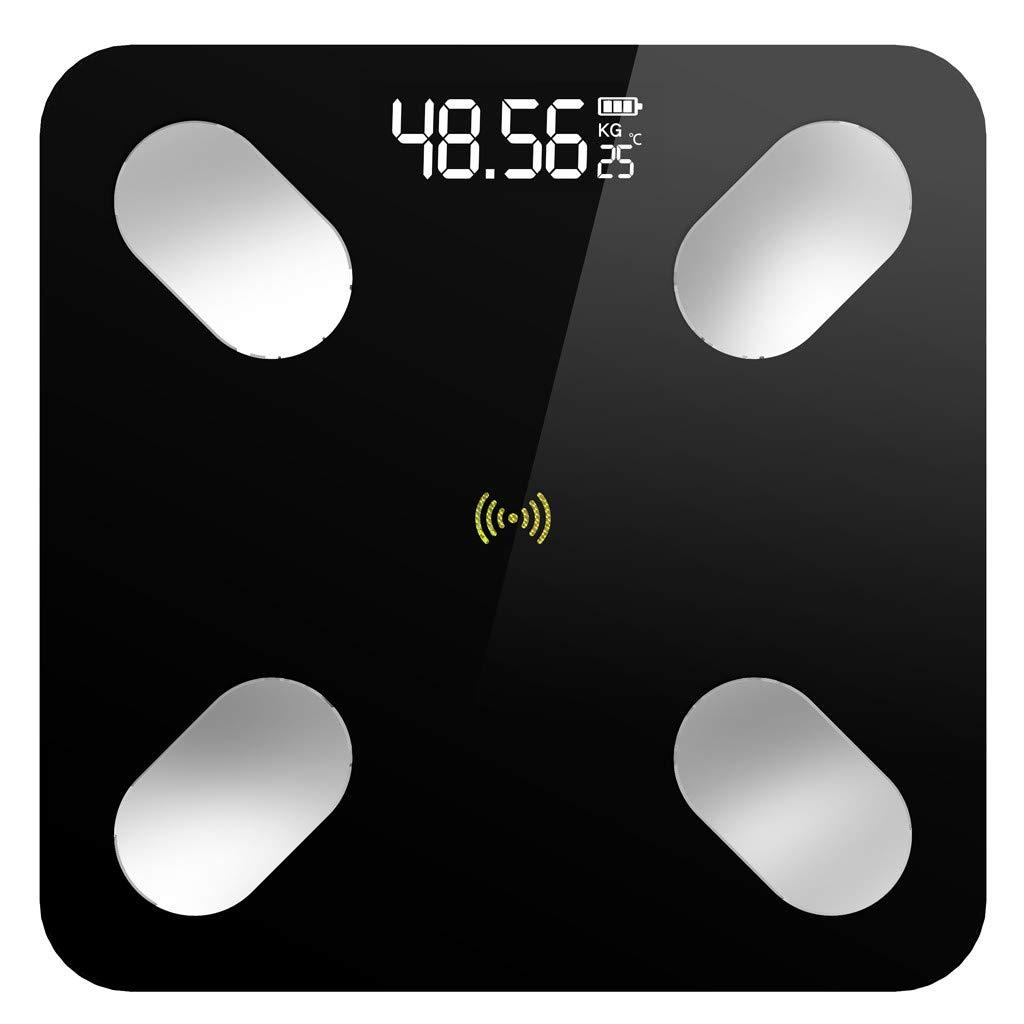 Body Fat Weight Scale   BMI Smart Bluetooth Digital Bathroom Wireless Weight Scale   Body Composition Monitor Analyzer⭐⭐⭐⭐⭐ (Black)