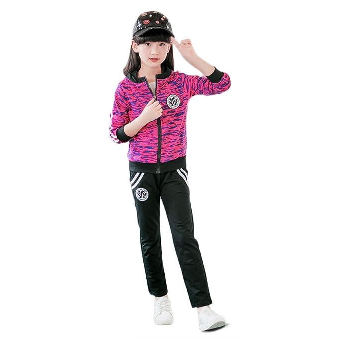 PanpanBox PanpanBox Sportanzug Mädchen Trainingsanzug