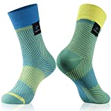 RANDY SUN Men Women Waterproof Socks,New Weaving Technique for Better Image and Color,1 Pair in Two Fashion Socks Meduim