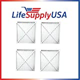 4 Pack Replacement Air Purifier Filter 30931 fits Hunter Models 30212, 30213, 30240, 30241, 30251, 30378, 30379, 30381 & 30382 by LifeSupplyUSA Review