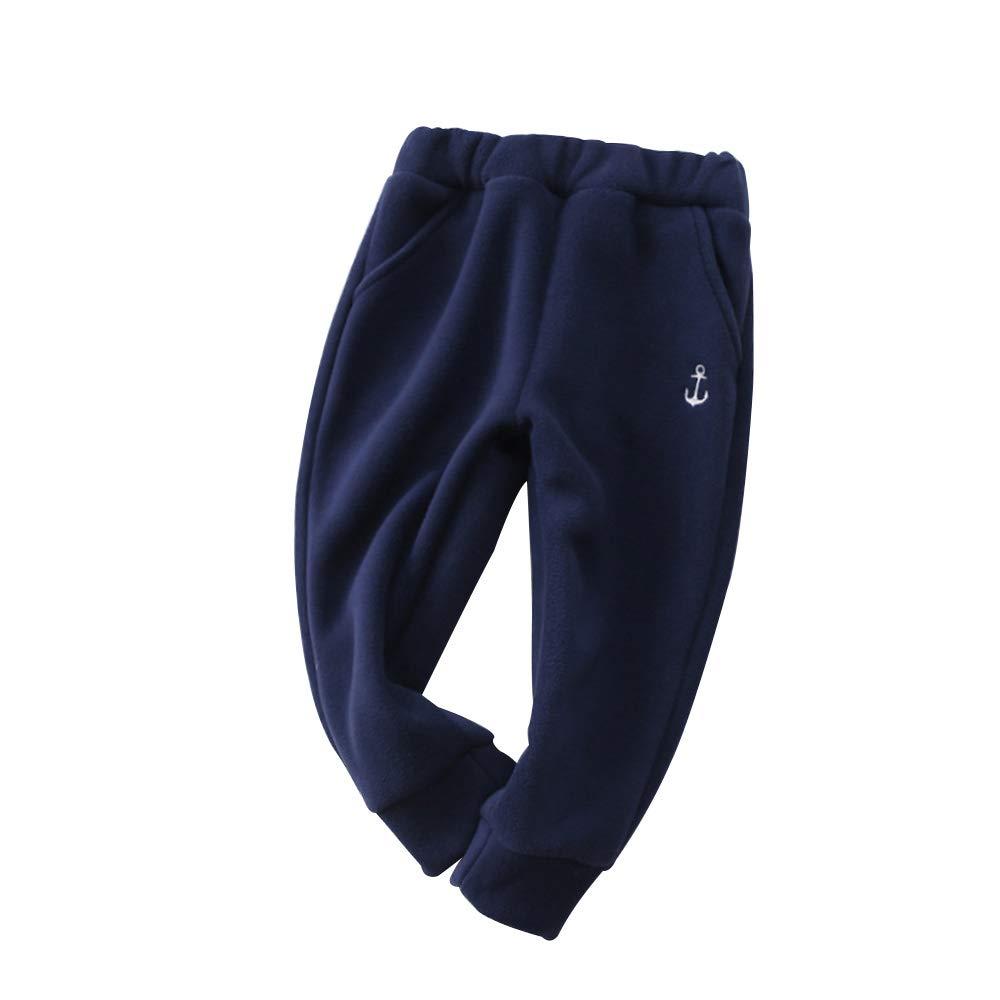Tallas 1-7T oto/ño e Invierno PAUBOLI Pantalones de Forro Polar para beb/é de la Marca