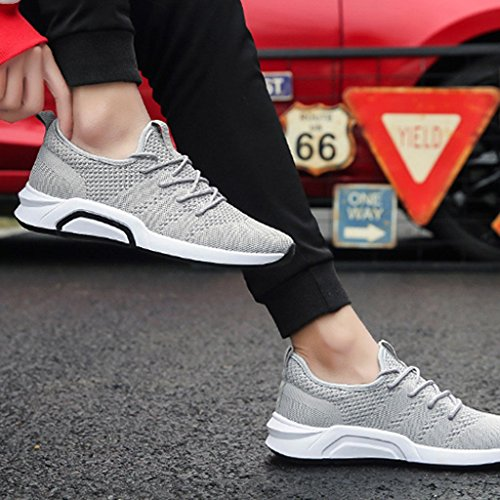 Scarpe da uomo uomo selvatici 43 Black Espadrillas coreana scarpe da casual Estate sport Color scarpe di da basse scarpe scarpe Size tendenza tela uomo YaNanHome da Gray IxH1nqEq