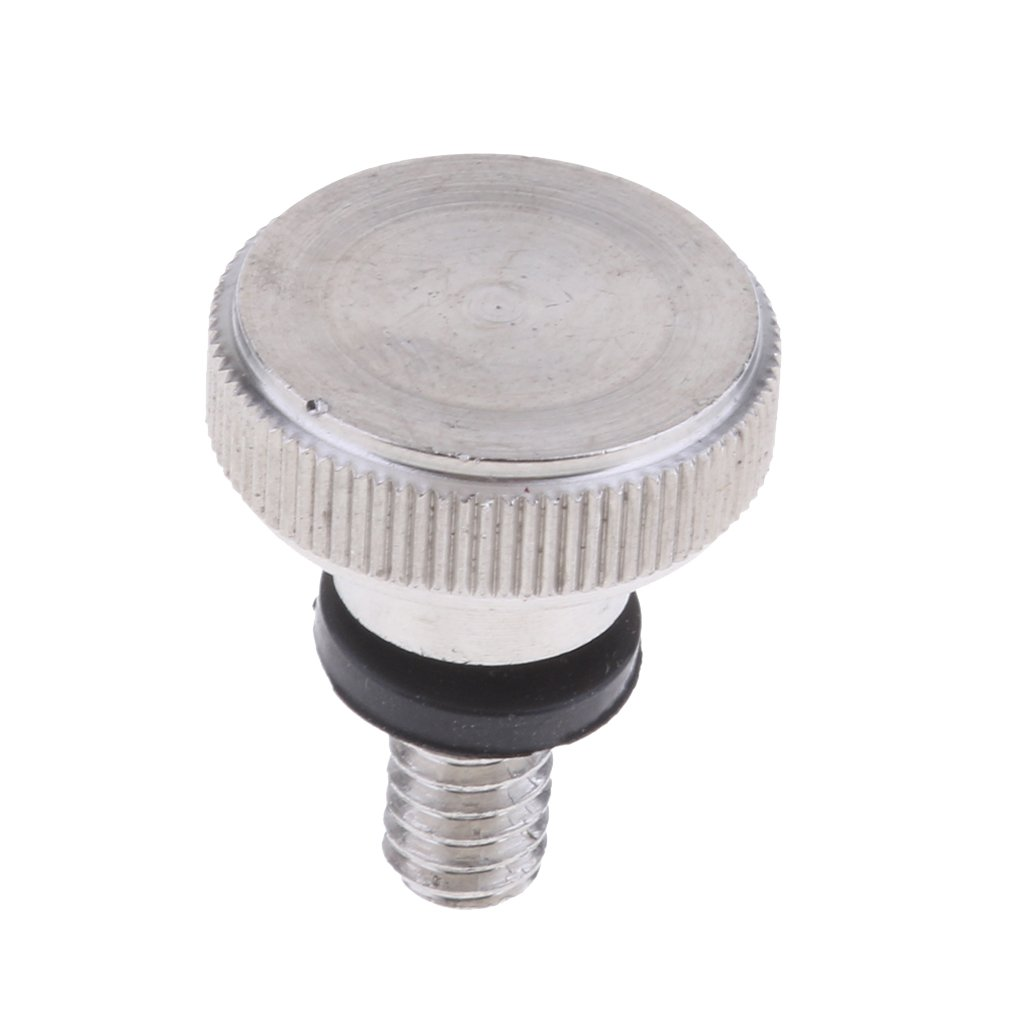 Baoblaze Knurled Side Quick Release Rear Seat Mount Screw M6 for Harley 883