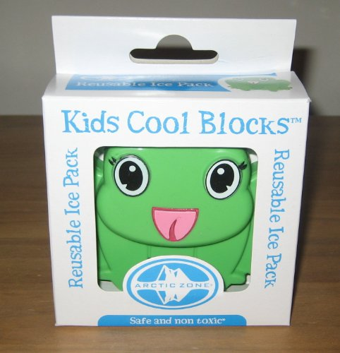 Kids Cool Blocks Frog Reusable