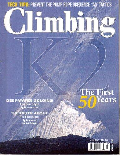 Climbing Magazine (July, 2004)