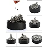 Toys Best Deals - ZMI Magnetic Sculpture Desk Toy with Stainless Steel Ball Stress Relief Office Decoration ( 171balls)