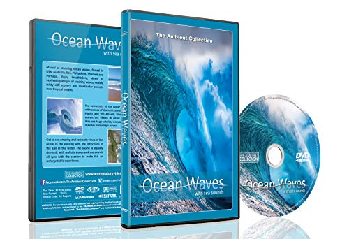 Ocean Waves DVD with Sea and Wave Sounds - Relax with Crashing Waves and View the Ocean from Above with Arial Cinematography - Good for Relaxing and Bedtime Relaxation (The Waves Pictures)