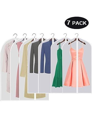 9b51a862a6ebb9 7 Stücke Kleidersack-Aufisi120 x 60 cm und 100 x 60 cm Kleidersäcke  Anzugsack Kleiderhülle