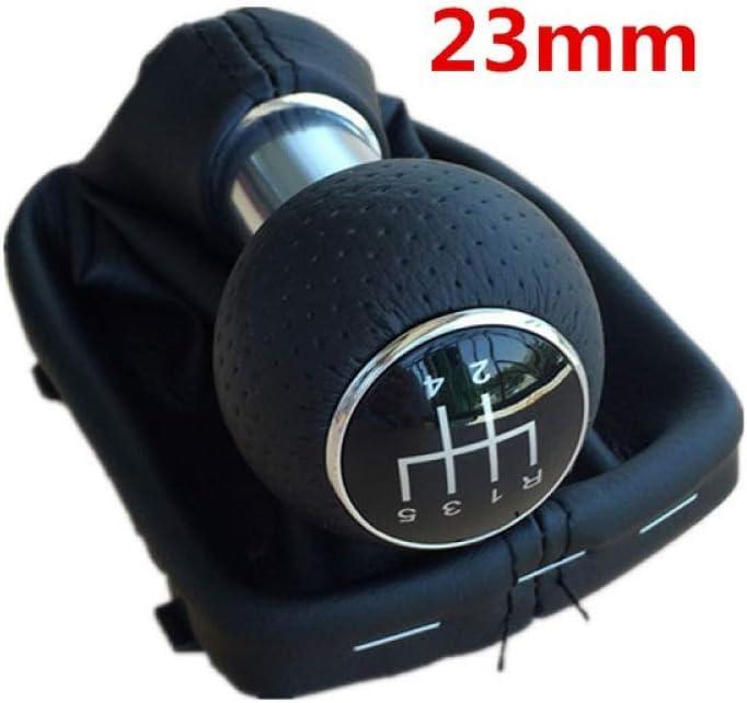 f/ür Audi A3 8L 1,6 Liter 1996 1997 1998 1999 2000 2001 2002 2003 Autoteile LUOERPI Auto Schaltknauf 23mm Schaltgetriebe 5//6-Gang