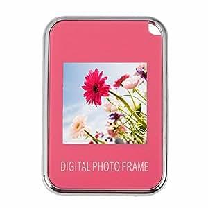 Minico 1,5 pulgadas marco de fotos digital Visor de Fotos de llavero, color rosa: Amazon.es: Electrónica