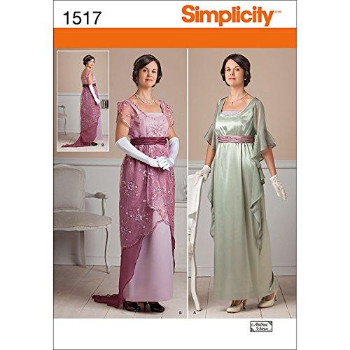simplicity-creative-patterns-1517-misses-edwardian-style-dresses-r5-14-16-18-20-22