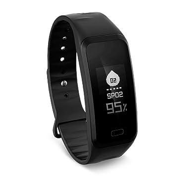 meisijia R1 Smart de pulsera resistente al agua Tensiómetro de oxígeno de movimiento Cuchillo Fitness Smart brazalete iOS Android: Amazon.es: Electrónica