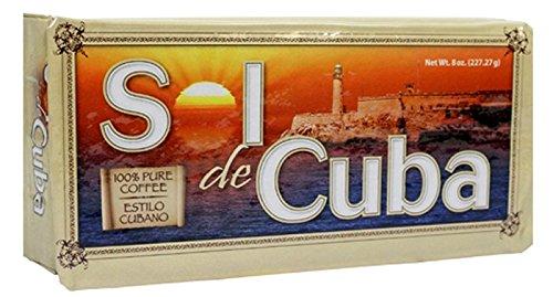Cafe Sol de Cuba Ground Coffee Cuban-Style 8 oz