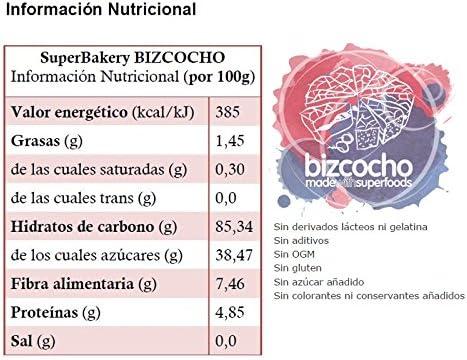 Energy Feelings Superbakery para Bizcocho Ecológico, 655 gr ...