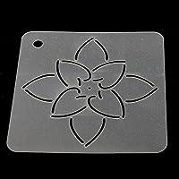 2 Stück Blume DIY Schablone Kunststoff Quilten Vorlage Für Patchwork