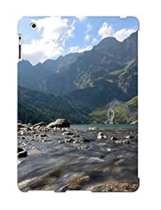 Defender Case For Ipad 2/3/4, Mountains Clouds Landscapes Nature Hills Rocks Poland Sunlight Lakes Pattern, Nice Case For Lover's Gift