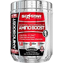 Six Star Intra-Workout Amino Boost 30 servings Fruit Punch 176g CA