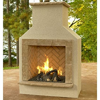 Excellent Amazon Com San Juan Gas Fireplace Surround Outdoor Home Interior And Landscaping Mentranervesignezvosmurscom