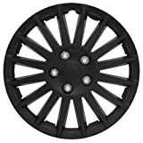 """Pilot WH521-16C-B All Black 16"""" Indy Wheel Cover"""