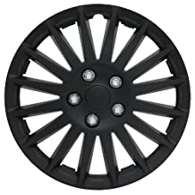"Pilot WH521-16C-B All Black 16"" Indy Wheel Cover"