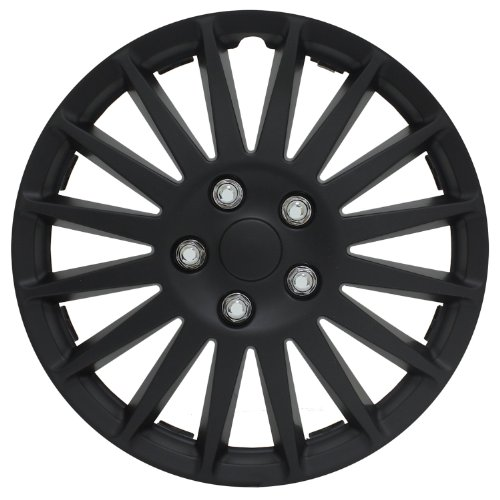 16 hubcaps black - 8