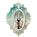 Deny Designs  Natt, Sky, Baroque Clock, Medium