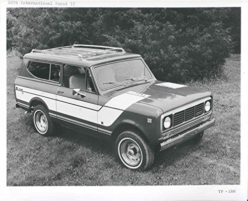 1976 International Scout II Truck Factory Photo