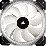 Corsair HD Series, HD120 RGB LED, 120mm High Performance RGB LED PWM single fan with controller
