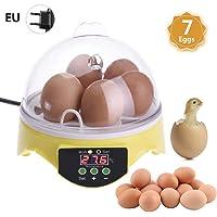 Mini incubadora de huevos 7 huevos, incubadora automática